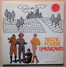 """RICCHI & POVERI - I Musicanti Lp 12"""" 1976 con inserto testi Cetra- lpx 46 NM"""