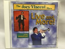 The Joey Vincent Show CD Live and More! at the Waterfront (2002) Autographed