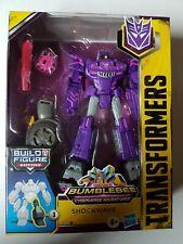Transformers Bumblebee Cyberverse Adventures Shockwave Deluxe Class Brand New