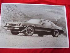 1980 CHEVROLET  Z28 CAMARO  11 X 17  PHOTO  PICTURE