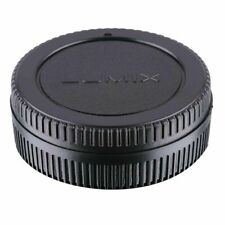 "New Body and Rear Lens Cap Cover for Panasonic Lumix Micro Four Thirds ""Lumix"""