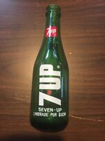 Rare Arabic Language 7up Seven Up ACL Soda Bottle Vintage