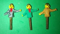 Scarecrows (3) - OO Gauge/1:76 scale - Painted