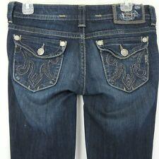 Mek Denim USA Womens 32X31 Denim Blue Jeans Frankfurt Boot Cut
