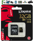 32GB ORIGINALE KINGSTON MICRO SD classe di scheda memoria 10 con ADATTATORE 90MB