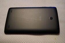 Cubierta trasera en Negro Genuino para LG G Pad 8.0 Tablet V480