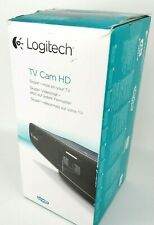 Logitech TV Cam HD Carl Zeiss Optics Webcam Camera Wi-Fi HDMI Skype Video Chat