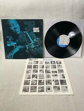 1962 Grant Green Grant's First Stand LP Blue Note Records Mono BLP 4064 VG/VG