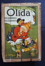OLIDA Joe Bridge; Industrial Wooden Vintage Rustic Retro Cafe Wall Art Print NEW