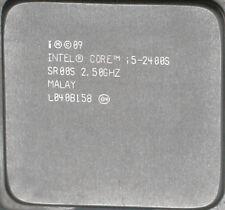 Intel Core i5 2400s 2,5ghz PROCESSORE CPU Quad-Core Socket 1155 l040bi58