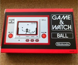 NINTENDO GAME & WATCH BALL Club Nintendo Limited GAME AND WATCH  Unused!!