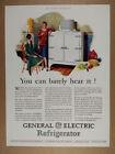 1929 GE General Electric Monitor Top Refrigerator vintage print Ad photo