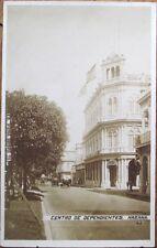 Havana/Habana, Cuba 1910 AZO Realphoto Postcard: Avenida De Dragones Y Prado