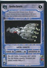 Star Wars CCG Premiere Black Border Corellian Corvette