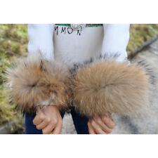 Bridget Finn Raccoon Fur Slap on Cuffs