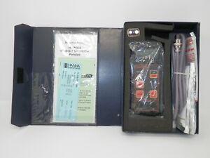 Hanna Instruments HI9813 Grochek Meter pH/EC/TDS Portable Handheld Sensor Probe