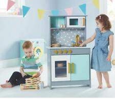 Wooden Deluxe Kitchen Playset Toy Set Pretend Kids Educational Play Toys Xmas