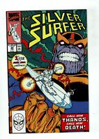Silver Surfer, #34, VF/NM 9.0, Thanos, Infinity Gauntlet/Infinity War/Endgame