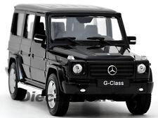 WELLY 1:24 2012 MERCEDES-BENZ G-CLASS G WAGON SUV NEW DIECAST MODEL BLACK 24012