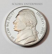 2001 S JEFFERSON *PROOF* NICKEL  **FREE SHIPPING**