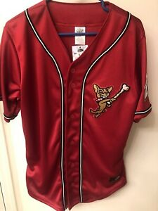 El Paso Chihuahua Red OT Sports Size Small Jersey