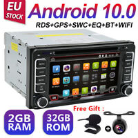 2DIN AUDIO ANDROID 10.0 CAR GPS VIDEO For TOYOTA RAV4 PRADO LANDCRUISER HILUX