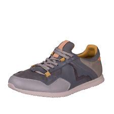 DIESEL Size 43 / UK 9 Men's S-FURYY Contrast Genuine Leather Slip On Sneakers
