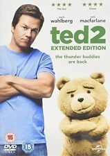 Ted 2 (extended Edition) DVD 2015 by Mark Wahlberg Amanda Seyfried Seth M.