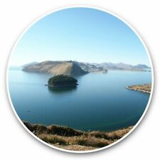 2 x Vinyl Stickers 30cm - Copacabana on Lake Titicaca Bolivia  #44718