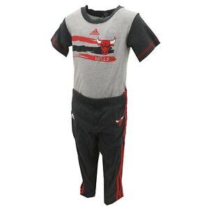 Chicago Bulls NBA Adidas Baby Infant Size 2-Piece Creeper & Pants Set NWT