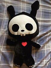 Skelanimals Kit The Cat Fiesta Plush Stuffed Animal Skeleton Skull Red Heart