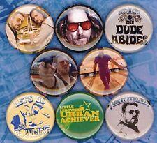 The Big Lebowski 8 NEW button badge pin dude abides jesus mark it zero donny