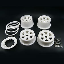 White Color Wheel Beadlock Rim For HPI Rovan KingMotor Baja 5B SS