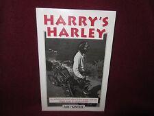 HARRY's Harley ~ Ian HUNTER. sc   UNread. ADVENTURE Biker Gangs   HERE in MELB!