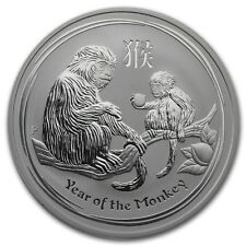 Perth Mint Australia 2016 Lunar Monkey 1 oz .999 Silver Coin
