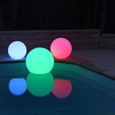 Innovia Floating LED Mood Light SET 35cm 40cm & 50cm for Pool Spa Pond + Remotes