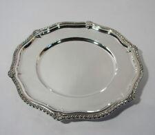 Otto Wolter Platzteller Silberteller 925er Sterling Silber Dm 30 cm 535 Gramm