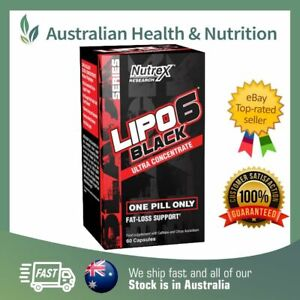 NUTREX RESEARCH LIPO 6 BLACK ULTRA CONCENTRATE + FREE SAME DAY SHIPPING