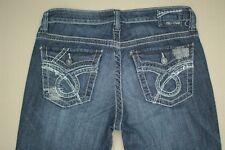 BIg Star Maddie Boot Cut Jeans Women's Size 28 Flap Pocket Medium Wash Denim