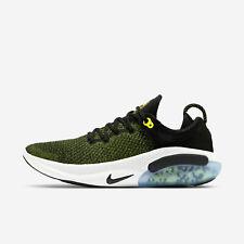 Nike Run Flyknit Joyride AQ2730-010 черный Opti желтый белый мужские кроссовки
