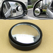 2X Round Wide Angle Convex Blind Spot Mirror Rear View Messaging Car Vehicle
