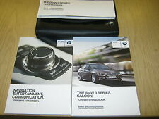 BMW 3 SERIES 2012 -2016 INC SAT NAV AND I  DRIVE handbook pack OWNERS MANUAL