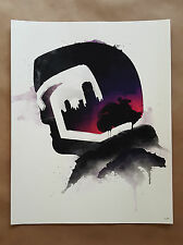 Dredd by Bruce Yan Giclee Print Movie Poster Judge Dredd Ltd Edition Not Mondo