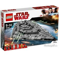 Lego Star Wars 75190 First Order Star Destroyer - Authentic Factory Sealed NEW