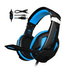 Gaming Headset MIC LED Headphones for PC Laptop PS5 PS4 Slim Pro Xbox One 3.5mm