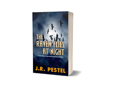 """Paperback """"The Raven Flies at Night"""" Signed by Author - Free Shipping In U.S."""