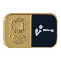 Tokyo Olympics 2020 Olympic Sport Pictogram Boxing Pin Badge JAPAN