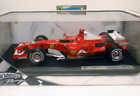 1/18 FERRARI F248 MICHAEL SCHUMACHER 2006 HOT WHEELS J2980