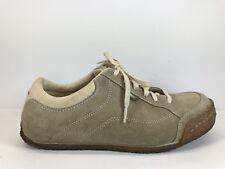 Simple Brand Beige Crepe Sole Walking Oxford Driving Sneaker Womens US Sz 7.5