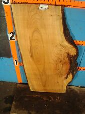 "#9250  1 1/2"" THICK  cherry burl live edge slab table top"